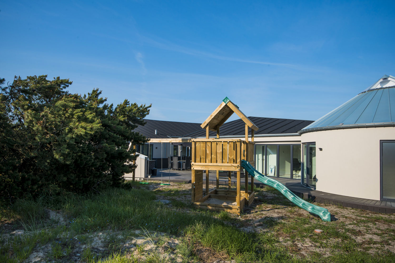 Lyxigt semesterhus i blåvand danmark att hyra. fitness wellness & spa