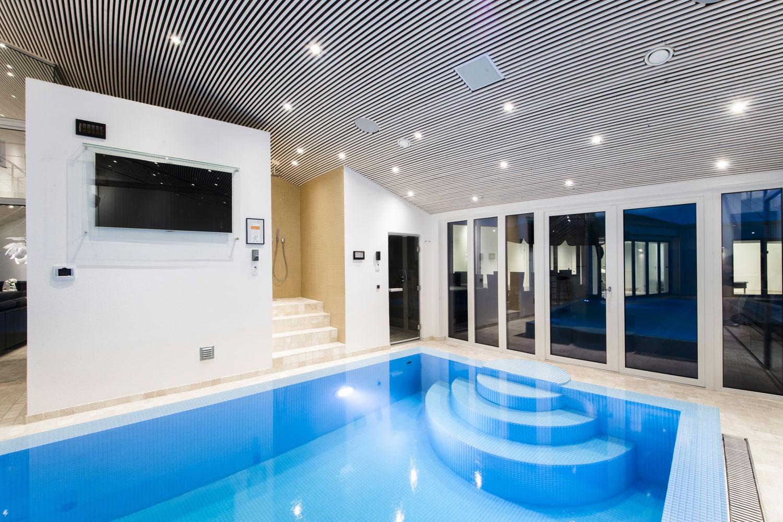 Luksus Sommerhus i Blåvand Udlejes - Fitness Wellness Pool & Spa